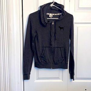 Women's size XS full zip PINK hoodie!